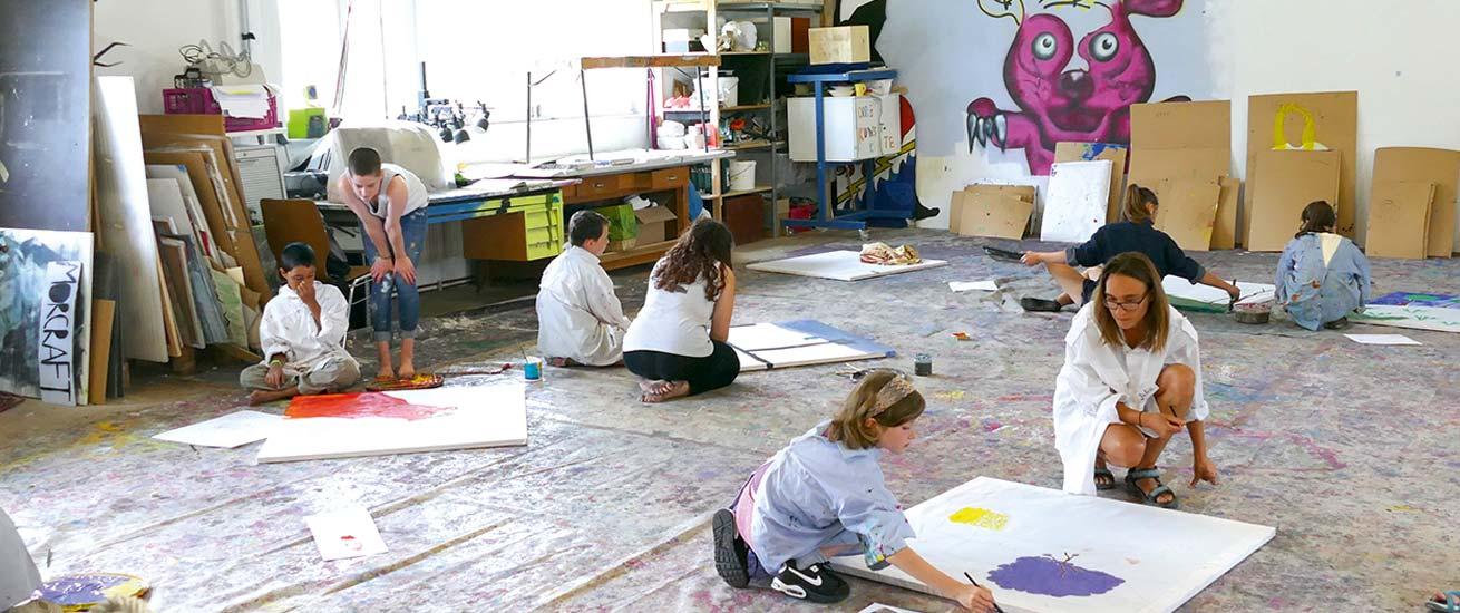 Kreativraum im Bauhof der MuKs