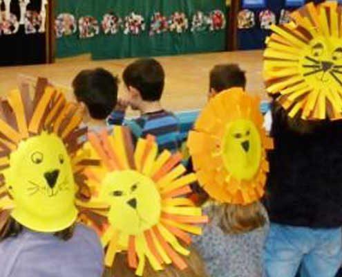 Singspiel Karneval der Tiere Konrad-Adenauer-Schule