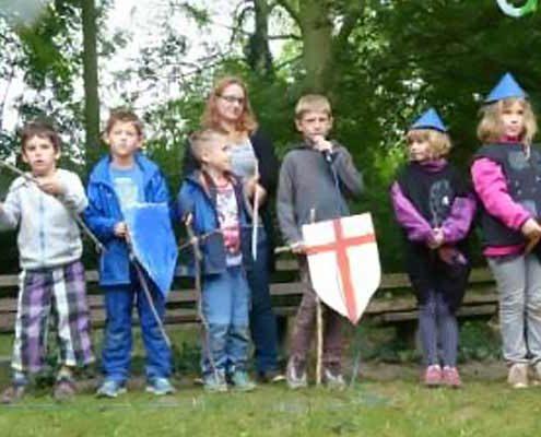 Waldferien Ritterspiele