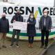 Der Vorstand der Bürgerstiftung bedankte sich persönlich mit Elmar Kistner, Dorothee Eckes und Gilbert Bürk bei Ulrich Löffler (2.v.l.) für die jüngste Großspende von 10.000 Euro.